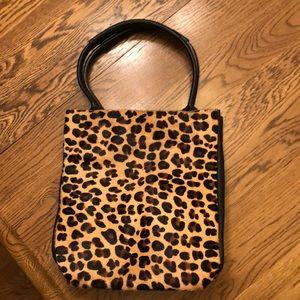 Leopard print bag NWOT